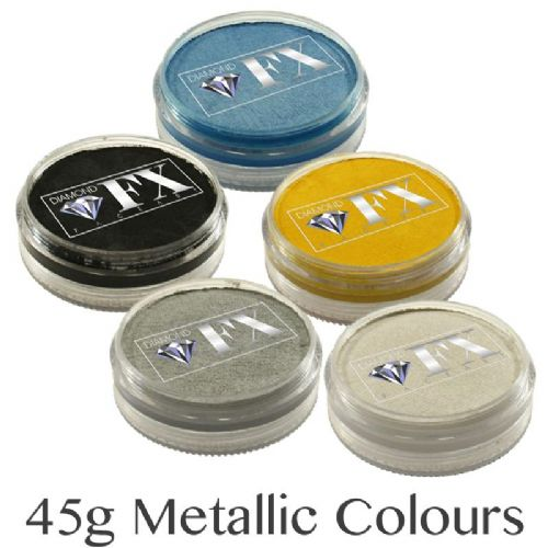 45g Metallic Colour Cakes